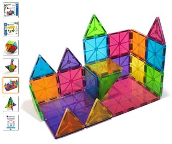 bloques magnéticos juguetes