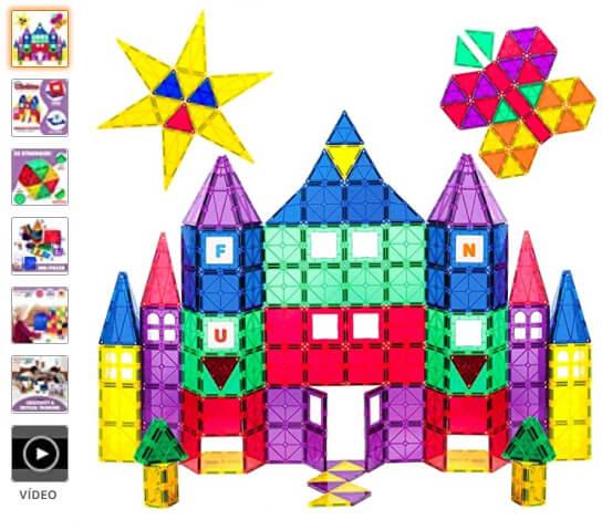 Bloques magneticos Playmags juego para niños